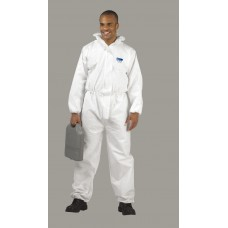 Disposable Type 56 Hooded White Coverall
