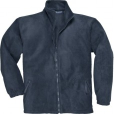 Navy Blue F400 Argyll Heavy Fleece Jacket size S,M,L,XL,2XL
