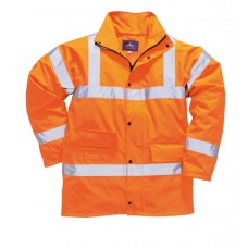 Orange Hi Vis En471 Traffic Jacket size S,M,L,XL,XXL,XXXL