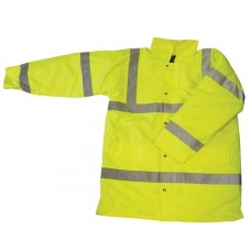 Yellow Hi Vis En471 Traffic Jacket size S,M,L,XL,XXL,XXXL