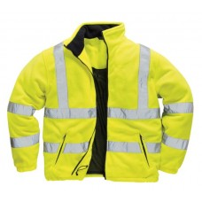 F300 Hi-Vis Yellow EN471 Fleece Jacket