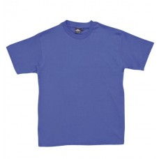 ROYAL BLUE Cotton Tee Shirt Small to Large