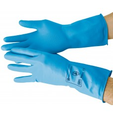 Blue Household Rubber Gloves