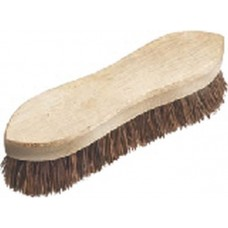 Wooden Backed Stiff Bristled Hand Scrubbing Brush