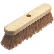 "12"" Coco Sweeping Brush with Handle"