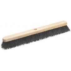 24 Soft Natural Coco Broom Head