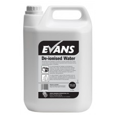 De-ionised Water Evans 5 litre