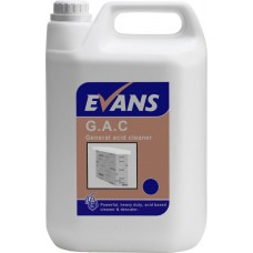G.A.C. General Acid Cleaner  5 Litre