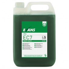 Evans EC7 Super Concentrated Heavy Duty Hard Surface Cleaner 5 Litre