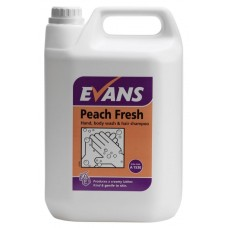 Peach Fresh Hand & Body Wash 5 Litre