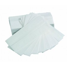 White 1ply C Fold Paper Hand Towels
