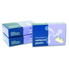 Dependaplast Washproof Plaster Assorted Sizes x100