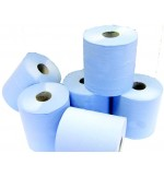Blue 2ply Centrefeed Paper Roll 190mm 150 metre x 6 rolls
