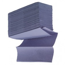 Blue Z-Fold Hand Towels