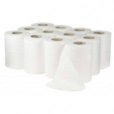 Mini 2ply White Centrefeed Roll