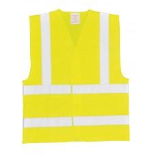 Yellow Hi Vis En471 Waistcoat size S,M,L,XL,XXL,XXXL