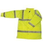 Yellow Hi Vis En471 Traffic Jacket size S,M,L,XL,XXL,XXXL