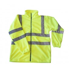 Hi Vis Yellow En471/3 Fleece Zip Jacket size S,M,L,XL,XXL,XXXL,4XL