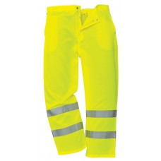 "Hi Vis En471 Yellow Polycotton Trouser size 30"" to 40"""