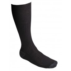 Combat Work Sock with Cushioned Foot Black