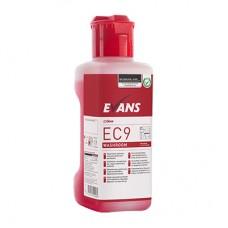 Evans EC9 Washroom Bactericidal Cleaner & Descaler 1 Litre New Formulation