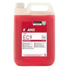 Evans EC9 Washroom Bactericidal Cleaner & Descaler 5 Litre