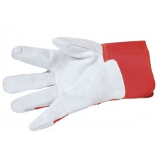 Premier Red Leather Heavy Weight Rigger Glove En388