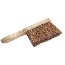 Coco Fibre Hand Brush with Wooden Stock & Handle