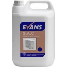 G.A.C. General Acid Cleaner  5 Litre