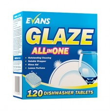 Glaze All in One Dishwash Tablets   (x120)