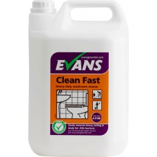 Clean Fast Perfumed Bactericidal Cleaner 5 Litre