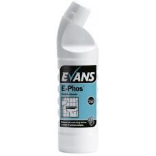 E-PHOS Stainless Steel Toilet Cleaner 1 Litre