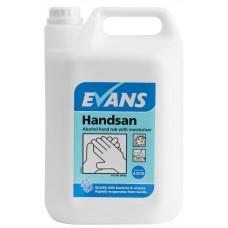 Evans Handsan Skin Sanitiser 5 Litre