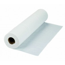 """Blue/White 2 ply 20"""" Hygiene Wiping Roll (x9)"""