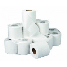 White 2 ply Soft Conventional Toilet Rolls x 36