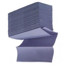 Blue Z-Fold Hand Towels