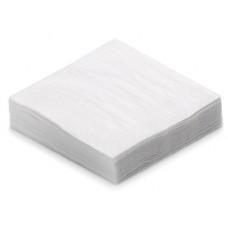 White 1 ply 33cm Napkin