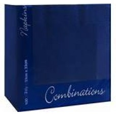 Navy Blue 2ply Napkins 40cm