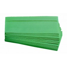 Interleaved 1ply Paper Hand Towels Green