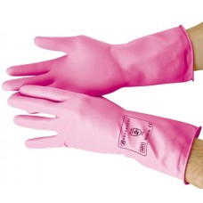 Shield Pink Household Rubber Glove